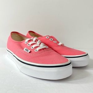 Vans Authentic Strawberry Pink Sneakers